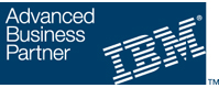 IBM Business Partner Logo - IBM is a business partner with Linoma Software